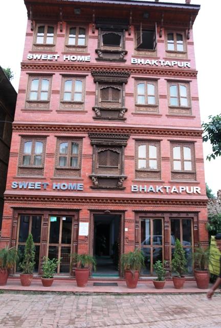 outlook of sweethome bhaktapur
