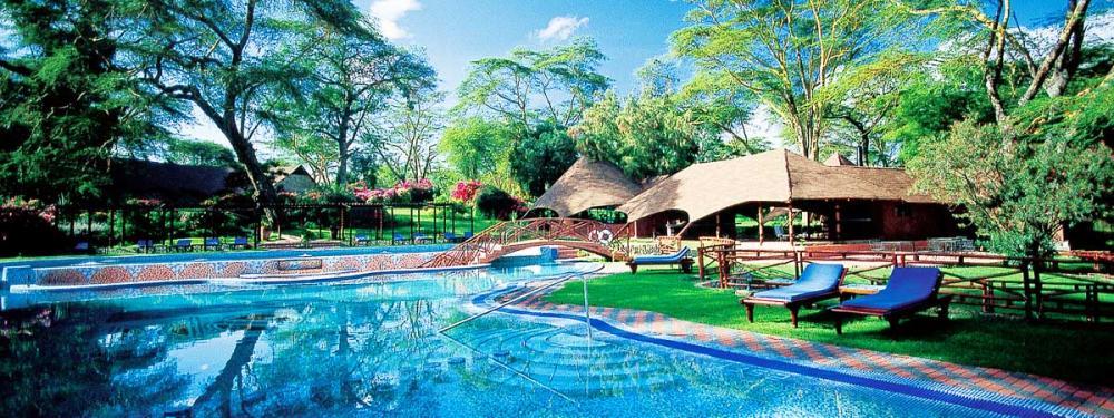 A Pool At Serengeti Sopa Lodge
