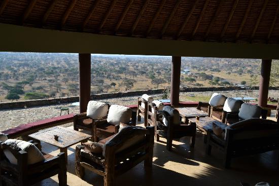 Views from Tarangire Safari Lodge