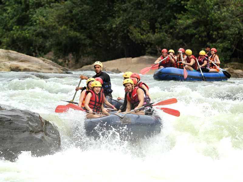 White Water Rafting in Kithulgala