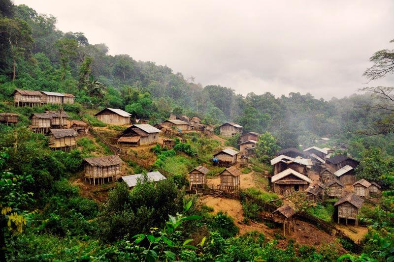 akha village