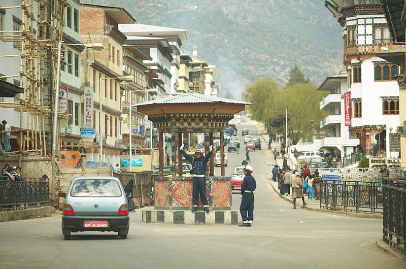 Thimphu Town - Capital City