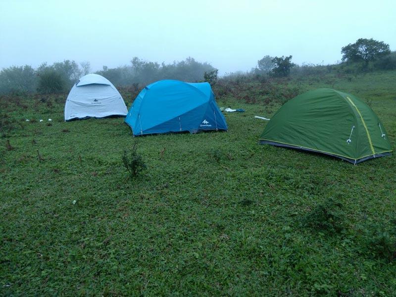 Tent camping Vagamon