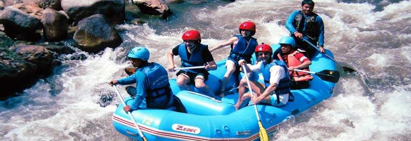 Rafting in Darjeeling