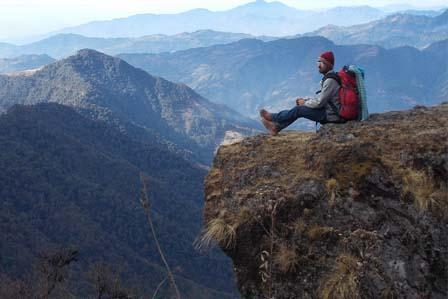 Traking in Darjeeling
