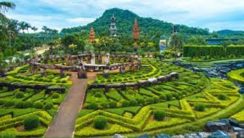 Nong Nooch Tropical Botanical Garden in Pattaya